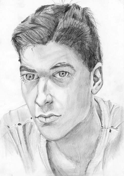 Как нарисовать портрет человека - для начинающих